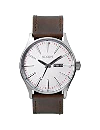 Nixon Sentry Leather Mens Watch A1051113
