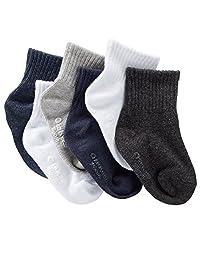 Carter's Little Boy`s 6-Pack Athletic Crew Socks