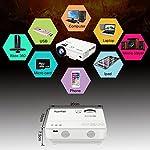 XuanPad-Mini-Proiettore-2400-Lumens-55000-ore-Portatile-Videoproiettore-Home-Theater-Proiettori-compatibile-con-Amazon-Fire-TV-Stick-Full-HD-1080P-HDMI-VGA-USB-AV-laptop-iphone-smartphone-Android