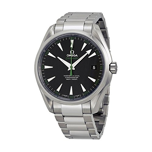 Omega Men's 'Seamaster150' Swiss Automatic Stainless Steel Dress Watch, Color:Silver-Toned (Model: 23110422101004)