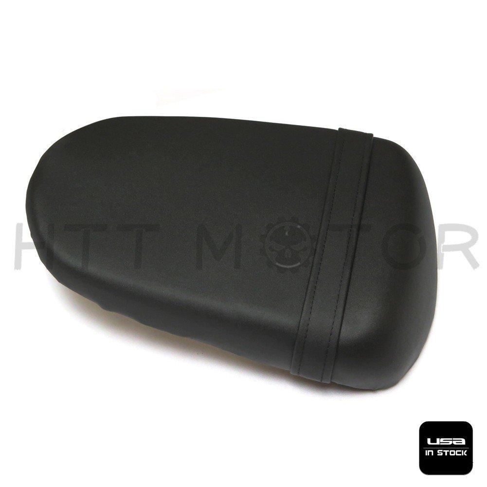 SMT MOTO GSXR 600//750 K8 Rear Leather Pillion Passenger Seat For Suzuki 2008-09 Black US