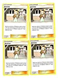 Sun Moon Team Up - Trainer Set - Jasmine 145/181 - x4 Supporter Card Lot