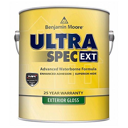 Benjamin Moore Ultra Spec EXT Exterior Paint - Gloss Finish (5 Gallon, White) ()