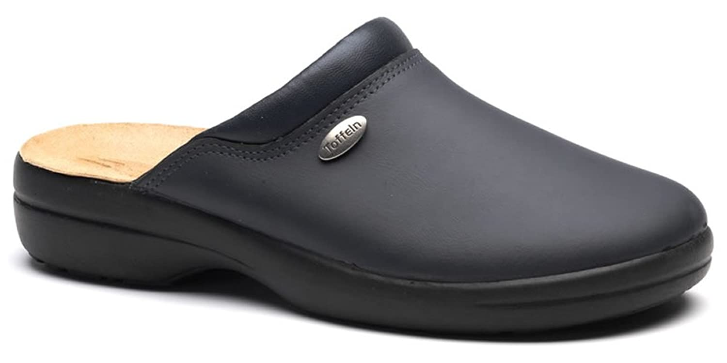 Toffeln Flex Lite 0501 Flexible Light Nursing Clogs Shoes - Navy
