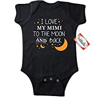Inktastic Unisex Baby I Love My Mimi To The Moon and Back Infant Creeper 6 Mo...