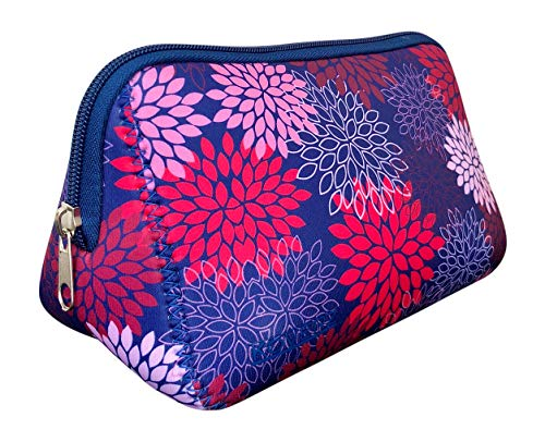 Koverz - Large Cosmetic Bag, Make-Up Bag, Clutch, Accessory Bag - Midnight Mums