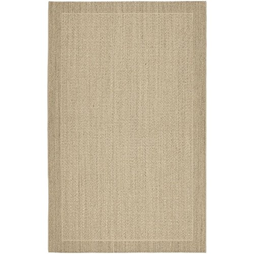 Safavieh Palm Beach Collection PAB321A Desert Sand Sisal & Jute Area Rug (9' x 12') ()