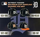aminco Detroit Tigers Cap Timeline Pin Set