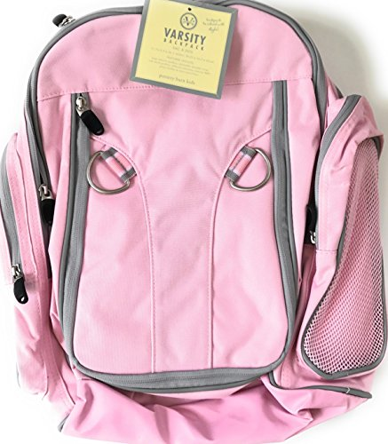 Pottery Barn Kids Girls Sports School Bag Backpack Pink 11 5 X 6 5 X 16 5  H