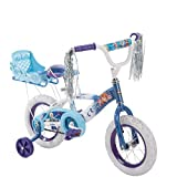 NEW 12 Inch Huffy Girls' Frozen Bike with Sleigh, Blue