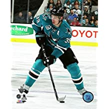 """Logan Couture San Jose Sharks 2016 Stanley Cup Playoffs Action Photo (Size: 8"""" x 10"""")"""