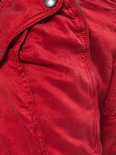 Faith Rosso Connexion W1501t00042600 Donna Pantaloni Cotone PUXrPw