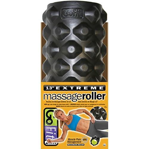 GoFit Extreme Rouleau de massage avec entraînement manuel