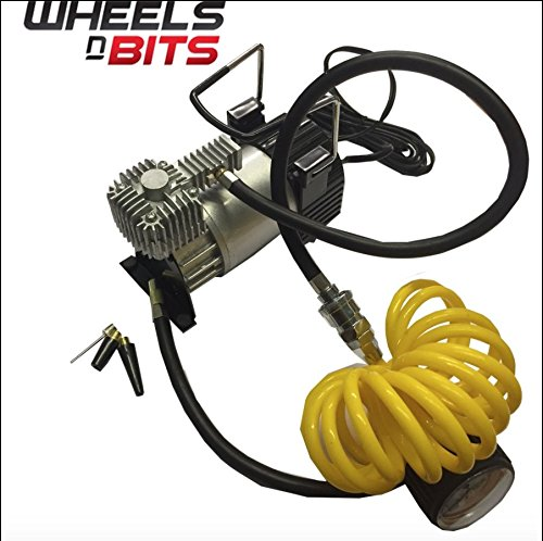 12V Powerful Heavy Duty Portable Air Compressor 4x4 Tyre Pump Quick inflate Wheels N Bits