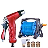 Hongyan Watering Can Garden Hoses Reels Showers Flower Cleaning car Watering Spray Supplies Garden Car Wash Watering Equipmentnozzles Spray Guns Drip Systems A+ (Color : 15M)