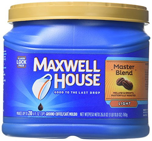Maxwell House Coffee, Master Blend, 30.6-Ounce