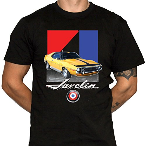 t American Motors Muscle Car Mens Black Cotton Crew Neck Tshirt (XX-Large) ()