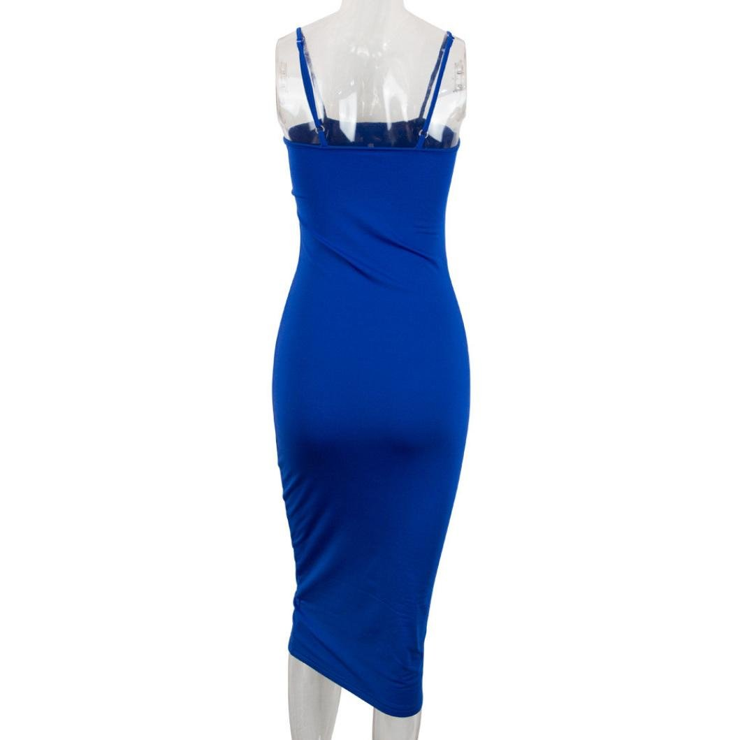 Damen Kleid, Feixiang® Frauen Kleid Faltenrock Damen Kleider ...