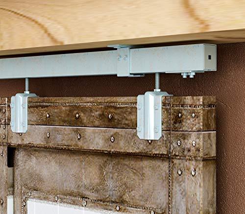 ceiling mount barn door hardware - 5