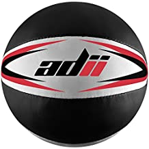 ADii Skin-TXT Leather Medicine Ball / Slam Ball / Wall Ball for Crossfit Workouts 5kg, 8kg, 10kg