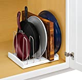 YouCopia StoreMore Adjustable Cookware Rack Pan Organizer