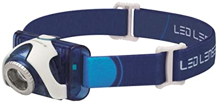 Ledlenser SEO7R-BL Rechargeable LED Head Torch (Blue) - Test-it Pack ... a483d3a68f