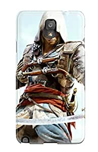 CaseyKBrown YnKxhjz117HZLxC Case For Galaxy Note 3 With Nice Assassin's Creed 4 Black Flag Game Appearance