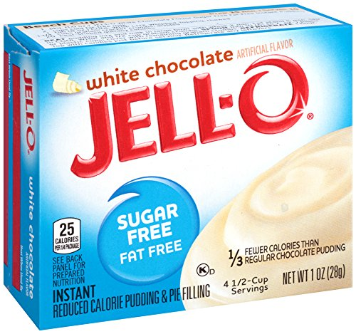 White Filling Chocolate (JELL-O White Chocolate Instant Pudding and Pie Filling, 1 oz)