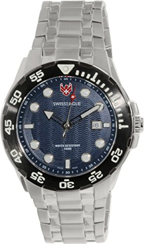 Swiss Eagle Dive Sea Bat Men's Watch SE-9040-33