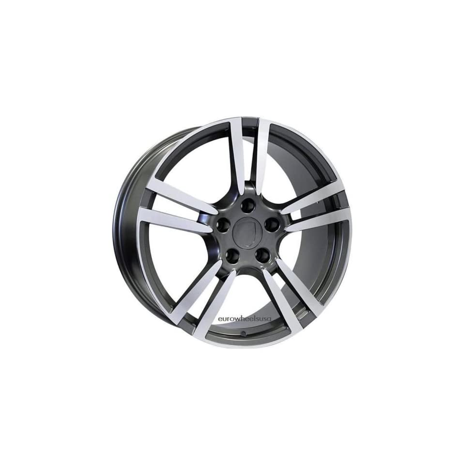 20 Wheels Set For Porsche Cayenne Includes Four Rims and Caps