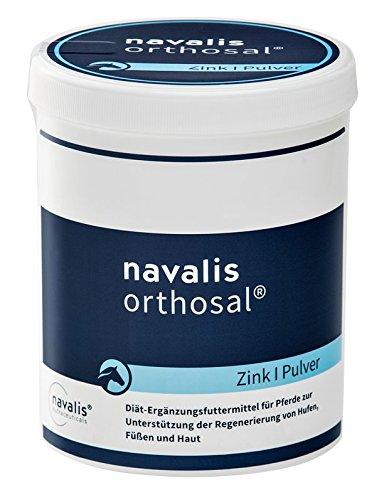 NAVALIS Nutraceuticals Orthosal Zink Horse Nährstoffpräparat für Pferde