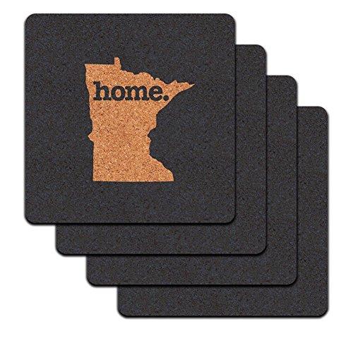 Minnesota Home State Profile Coaster