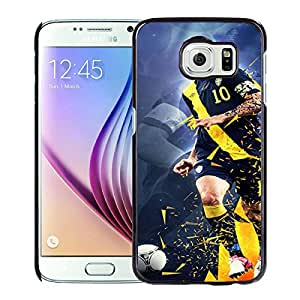 Zlatan Ibrahimovic Black Samsung Galaxy S6 Screen Cellphone Case Personalized and Melting Design