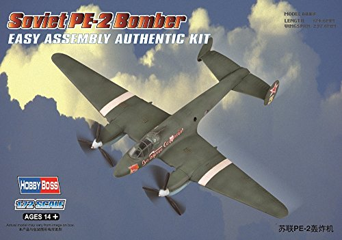 Engine Twin Mosquito (Hobby Boss Soviet PE-2 Bomber Easy Assembly Kit)