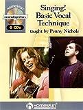 1: SINGING  BASIC VOCAL         TECHNIQUE  6 CDS