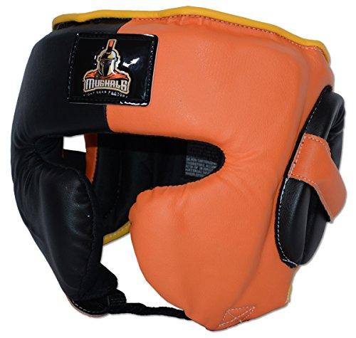 Japanese-Style Training Headgear - Synthetic Leather (Medium(19