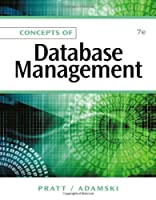 Concepts of Database Management, 7th Edition Front Cover