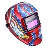 US Shipping Solar Auto Darkening TIG MIG MMA MAG Electric Welding Mask Helmets Welder Cap