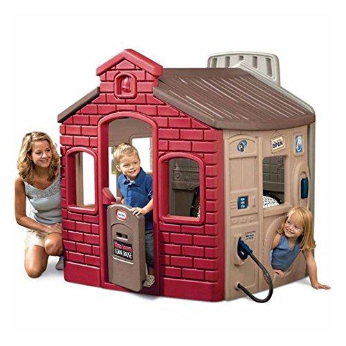 Little Tikes 444D - Spielhaus Multi 4-in-1 - Bunt (Grau)