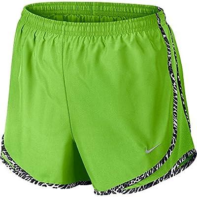 Nike Lady Tempo Running Shorts,Action Green/Black/Wolf Grey,XL