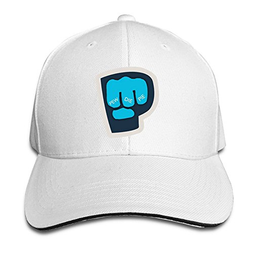 sunny-fish6hh-unisex-adjustable-pewdiepie-fist-logo-baseball-caps-hat-one-size-white