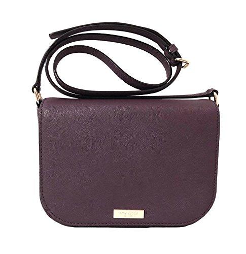 Laurel Saffiano York Mahogany Way Carsen Crossbody Spade Large Leather Bag New Kate wtqBE0E