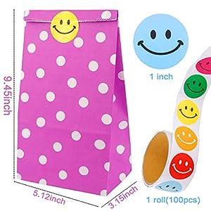 Augshy 40 Pcs Favor Paper Bags...
