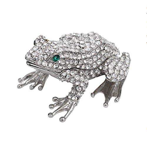Olivia Riegel - Crystal Trinket Box - Frog