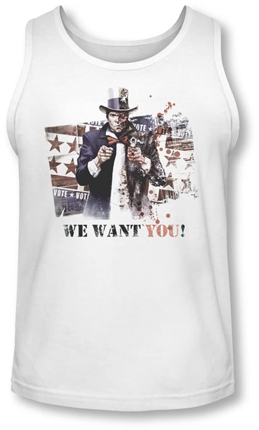 Arkham City - Mens We Want You Tank-Top