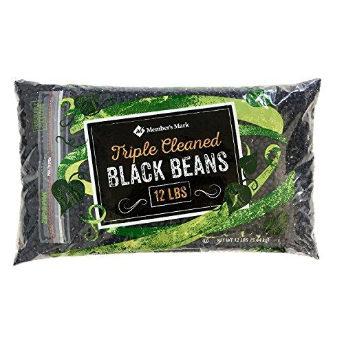 Member's Mark Black Beans (12 lbs.) (pack of 6) by Member's Mark