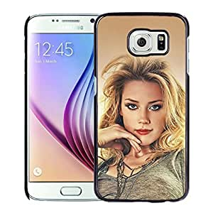 Charming Amber Heard Durable High Quality Samsung Galaxy S6 Case