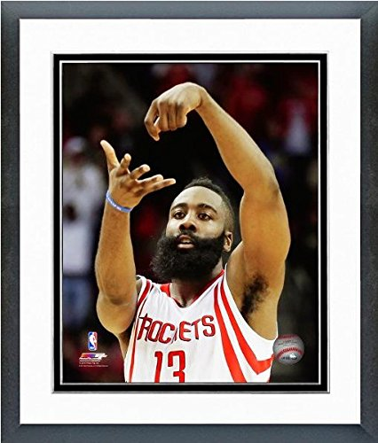 James Harden Houston Rockets NBA Action Photo (Size: 12.5