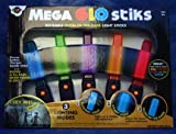 Oglo Mega Glo Stick Reusable Glow in the Dark Light Sticks - Halloween