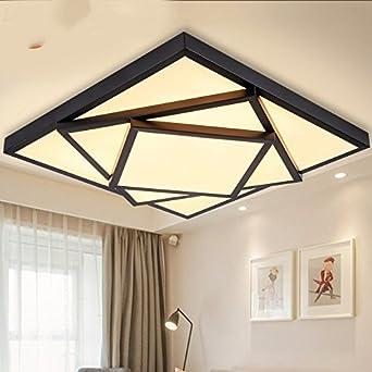 chambre rectangulaire lampe TIANLIANG04 Plafonniers Lampe de plafond Led lampe d/écoration chambre,trois gradation de couleurs -40 * 40cm lampe de salon